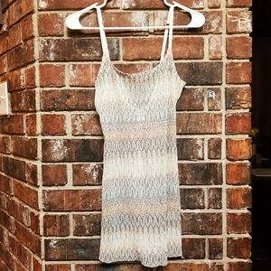 Intimately Free People sequin lace slip dress S